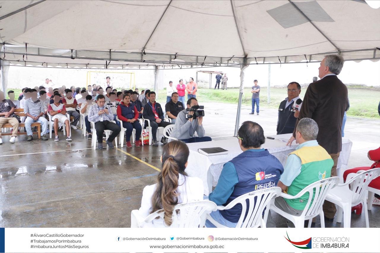 CENTRO DE ADOLESCENTES INFRACTORES RECIBEN BENEFICIOS EN SALUD