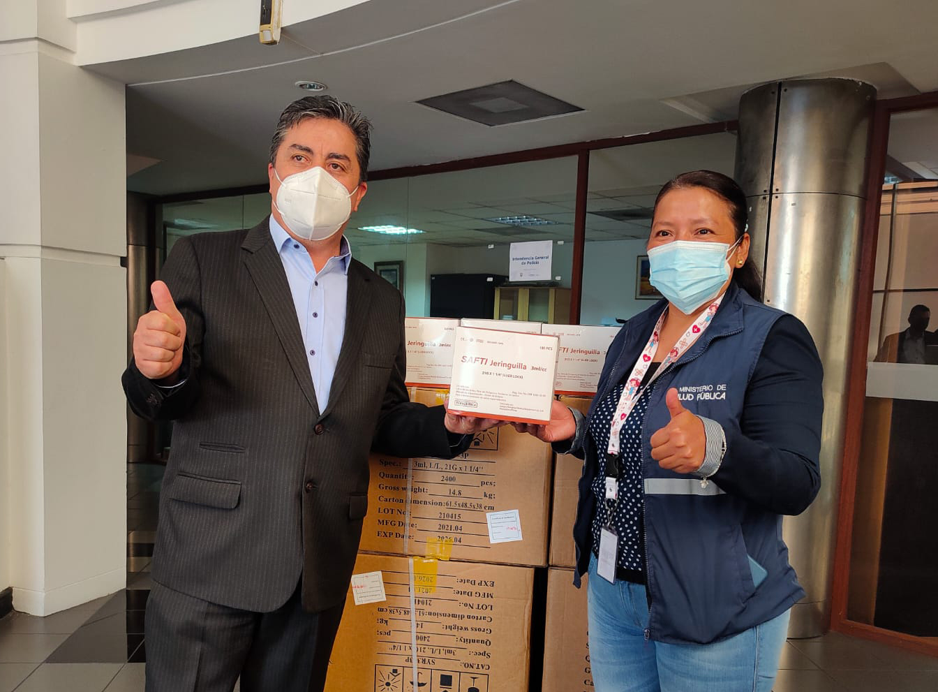 Imbabura lidera la administración de primeras dosis en la zona norte